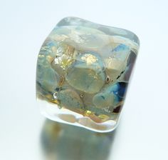 'Opal' cube by Bead Up A Storm
