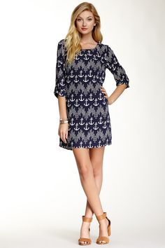Pink Owl Anchor Shift Dress by Pink Owl on @nordstrom_rack