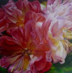 Marcella KasparTurkish Delights 240x40cmoil on linen2011SOLD  wwwgreenhillgalleriescom  Square Exhibition1stJuly16th July 2011