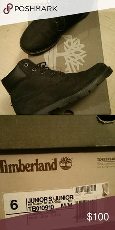 Timberlands boots Used once Timberland Shoes Ankle Boots & Booties