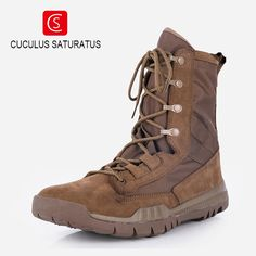 Cuculus fashion outdoor climbing hiking boots waterproof men boot new style outdoor mountain trekking shoes hunting boots ZD144L #Affiliate