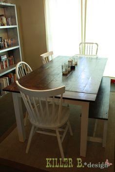idée pour repeindre la table de la cuisine