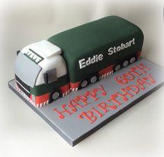 Eddie Stobart cake.............
