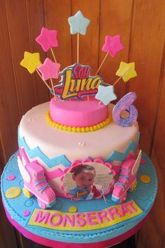 Soy Luna Cake, Son Luna, Birthday Cake Girls, Girl Cakes, Cupcake Toppers, Fondant, Cupcakes, Desserts, Food