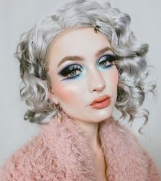 SKU:WS-WM023 MODEL: @sn0ok #wig#evahair#evahairofficial#makeup#merrychristmas#haircolor#hairstyle Synthetic Lace Front Wigs, Synthetic Wigs, Hair Color, Curly, Hairstyle, Fancy, Makeup, Model, Maquillaje