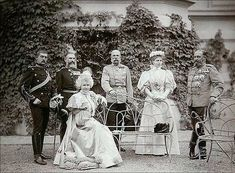 Romanian family with Emperor Franz Joseph