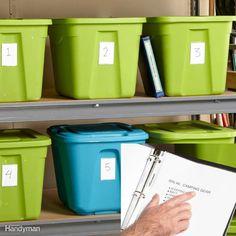 Storage Bin Index Ceiling Storage Rack, Overhead Garage Storage, Ball Storage, Garage Storage Systems, Diy Garage Storage, Attic Storage, Pantry Storage, Storage Bins, Storage Cabinets