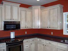 White Kitchen Cabinets With Glaze Design Fresh