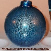 Lisa's Craft Blog: Tutorial: Alcohol Inked Glass Ornaments