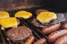 Burgers au barbecue