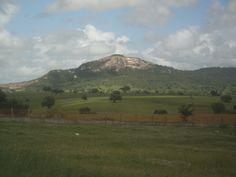 Agreste region of Paraíba - Brazil, road to Ingá