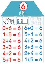 Αποτέλεσμα εικόνας για τα σπιτακια των αριθμων 2 3 4 5