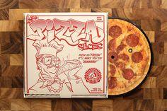 "Image of Fresh Pizza Slices - 7"" Vinyl Record"