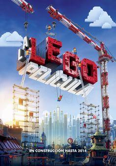 Póster oficial de #LaLEGOpelicula ¡Una película en construcción!