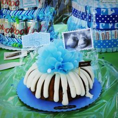 Nothing Bundt Cake! Baby Shower decorated. :) KB Aesthetics.