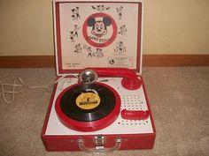 Disney Record Player: had it.