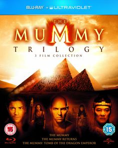 BARGAIN The Mummy Trilogy Blu-ray Set £7.40 at Amazon CHEAPEST EVER PRICE - Gratisfaction UK