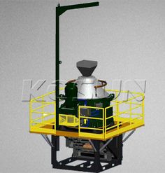 KOSUN vertical centrifuge is an ideal product for oil based drilling waste management.