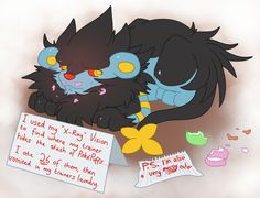 Pokemon Shaming: Luxray by That-Stupid-Dingo on DeviantArt | You made Luxray cry. Great.