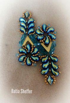 Zoliduo beads.....my beadwork BATIA SHEFFER