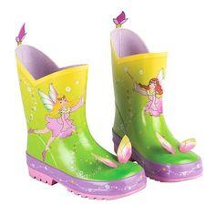 Kidorable Woodland Fairy Rainboots, Choose Size