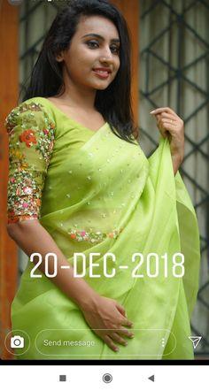 Pattu Saree Blouse Designs, Blouse Designs Silk, Dress Neck Designs, Bridal Blouse Designs, Blouse Patterns, Kids Blouse Designs, Hand Work Blouse Design, Stylish Blouse Design, Kurti Embroidery Design