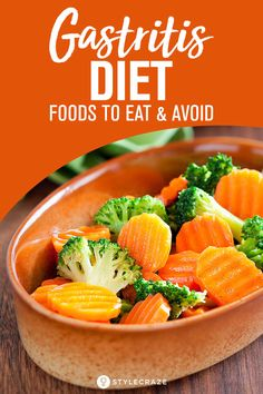 Gastritis Diet – What Foods To Avoid And What Foods To Consume? Foods For Gastritis, Foods For Ulcers, Gastritis Symptoms, Heartburn, Good Foods To Eat, Foods To Avoid, Ulcer Diet, Anti Reflux Diet, Bland Diet