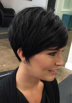 Coupe de cheveux Pixie pour cheveux noirs-27