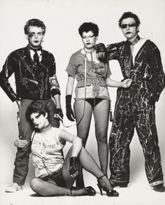 Punks by Steve Johnston, London 1977