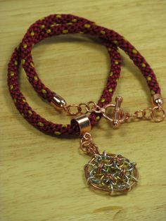 Necklaces & Pendants Beautiful Goth Steampunk Art Deco Necklace Memory Wire Red Jasper Chips Chain Mail Choker High Quality Goods Costume Jewellery