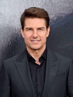 "Tom Cruise Photos Photos - Tom cruise attends the ""The Mummy"" New York Fan Eventat AMC Loews Lincoln Square on June 6, 2017 in New York City. - 'The Mummy' New York Fan Event"