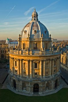 The enchantingly beautiful Radcliffe Camera library - Oxford, England