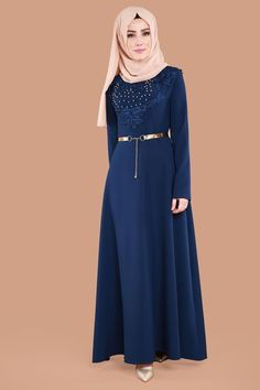 Abaya Fashion, Muslim Fashion, Skirt Fashion, Fashion Outfits, Elegant Dresses, Cute Dresses, Dress Brokat, Maxi Skirt Style, Fantasy Gowns