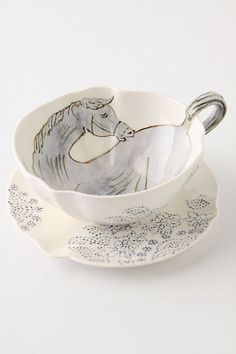 Land And Sea Cup & Saucer