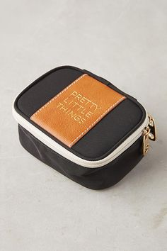 Slide View: 1: Pretty Little Things Travel Jewelry Case
