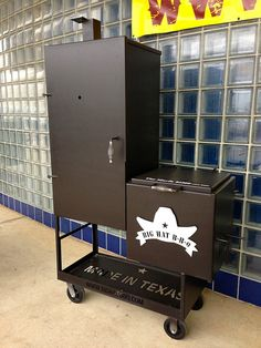 Big Hat Smokers and Grills new vertical smoker  www.bighatbbq.com,i COOK ON ONE,................