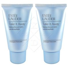 Estee Lauder TAKE IT AWAY Makeup Remover Lotion 2 x 30ML Travel Size BRAND NEW…
