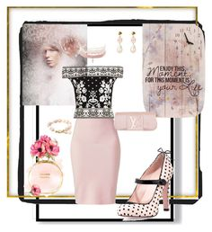 """""""Sweet pinky girl!!"""" by jaja8x8 on Polyvore featuring mode, Winser London, RED Valentino, Alexander McQueen, Louis Vuitton, Charlotte Russe et Chanel"""