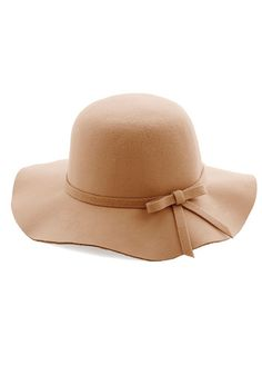 Oh Classy Day Hat in Tan | Mod Retro Vintage Hats | ModCloth.com