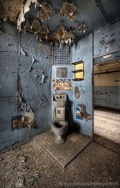 G. B. Piranesi Prison - Matthew Christopher Murray's Abandoned America