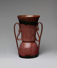 Vase, George Ohr, 1890-1905, the Met Collection