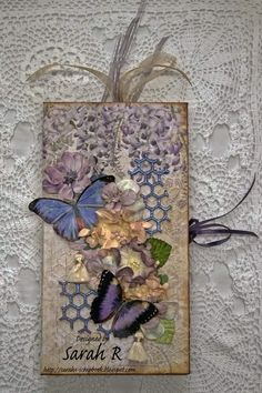 Hi Megu0027s Garden Friends And Fans! Sarah Here Today To Share A Mini  Waterfall Folio