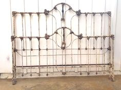 After king conversion with our Rusty Iron Antique finish. Beds, Iron, King, Antiques, Hair, Home Decor, Antiquities, Antique, Irons