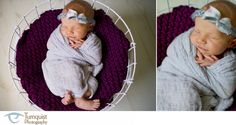 Cecelia {9 days} » Turnquist Photography  Basket blanket by Knapp Sacks theKSboutique.com