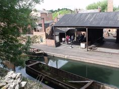 Black Country Living Museum - canal arm - Rolling Mill | Flickr - Photo Sharing!