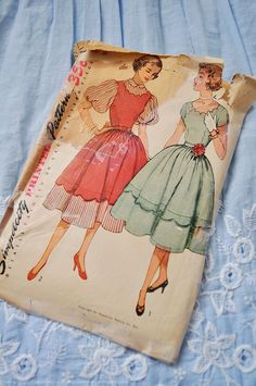 Make a nice dress for the girls