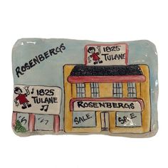 Rosenberg's Fine Clay Plaque