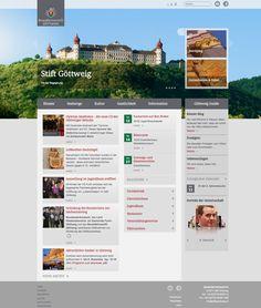 stiftgoettweig.at Restaurant, Desktop Screenshot, Blog, Web Design, Calendar, Culture, Design Web, Diner Restaurant, Blogging