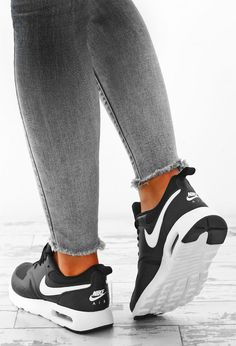 Nike Air Max Black and White Vision Trainers