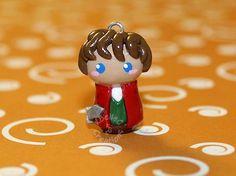 Bilbo The Hobbit Chibi Charm on Etsy, $10.00